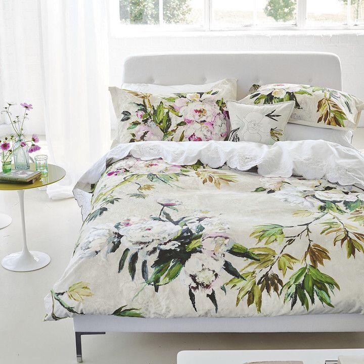 Love This Botanical Print Bedding Bed, Botanical Print Bedding