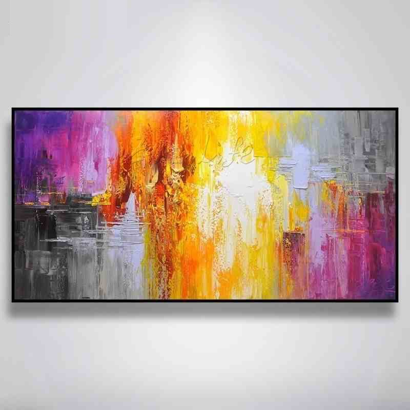 Unique arrival Modern abstract oil painting ,Hand painted canvas oil ...