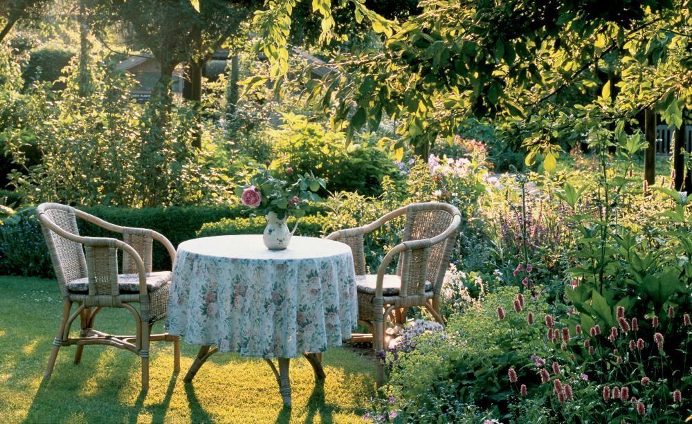 kleine garten pflegeleicht gestalten – greengrill, Garten und Bauten