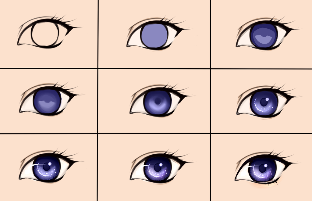Eye steps by Deavelyn on DeviantArt (With images) Eye