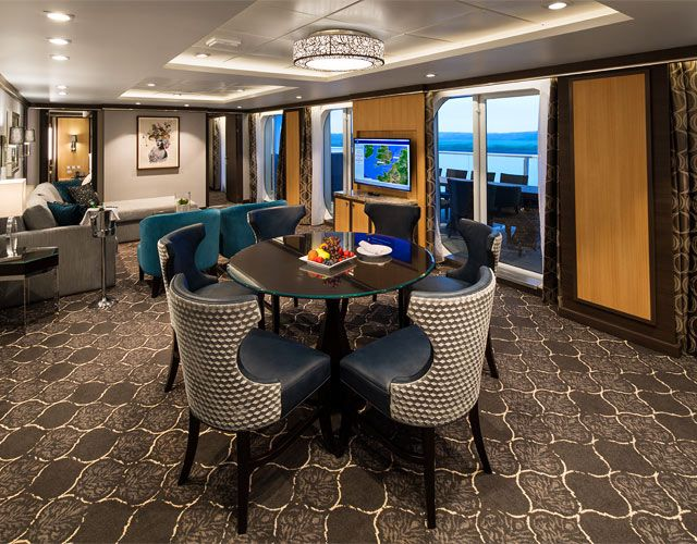 Owner S Balcony Suite On Harmony Of The Seas One Bedroom Aquatheater Suite With Balcony On Harmony O Harmony Of The Seas Royal Caribbean Cruise Royal Caribbean
