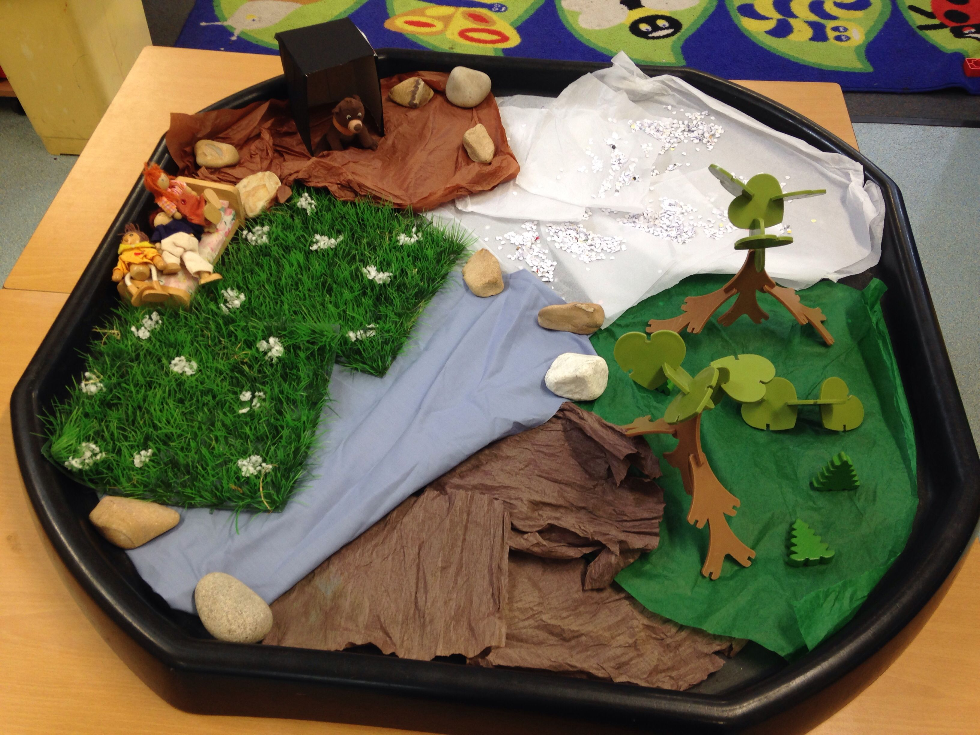 We Re Going On A Bear Hunt Small World Play