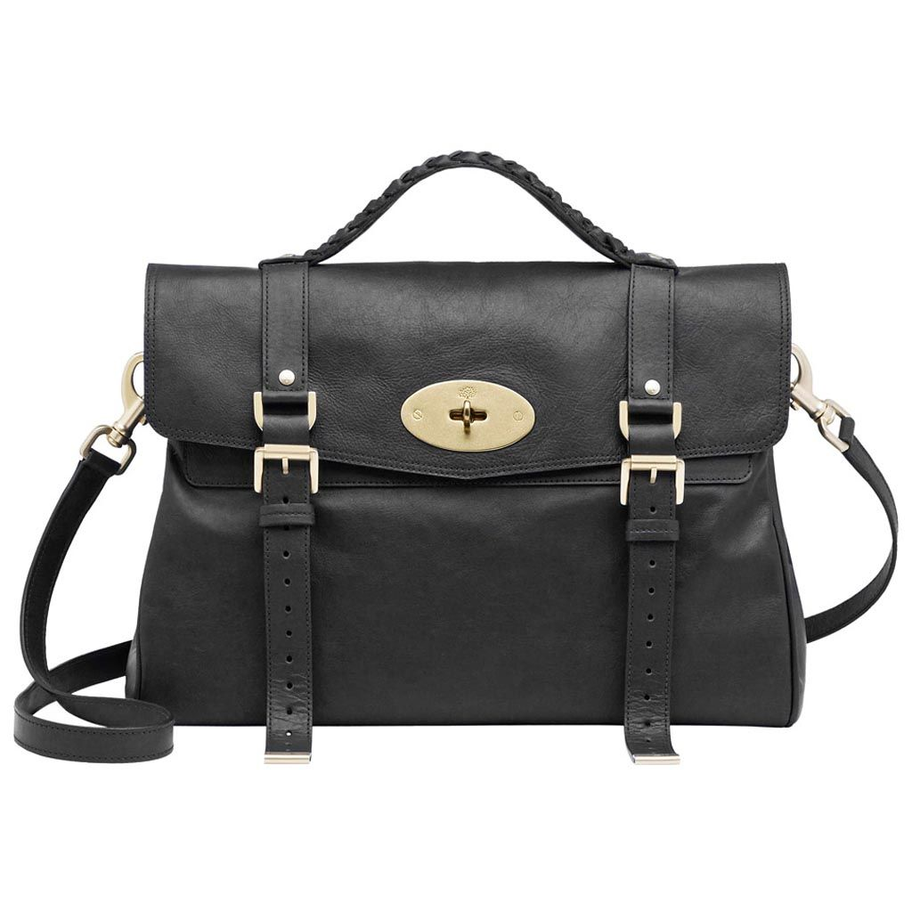049a0bcda9b Mulberry Oversized Alexa in Black for Men (black soft buffalo)   Lyst