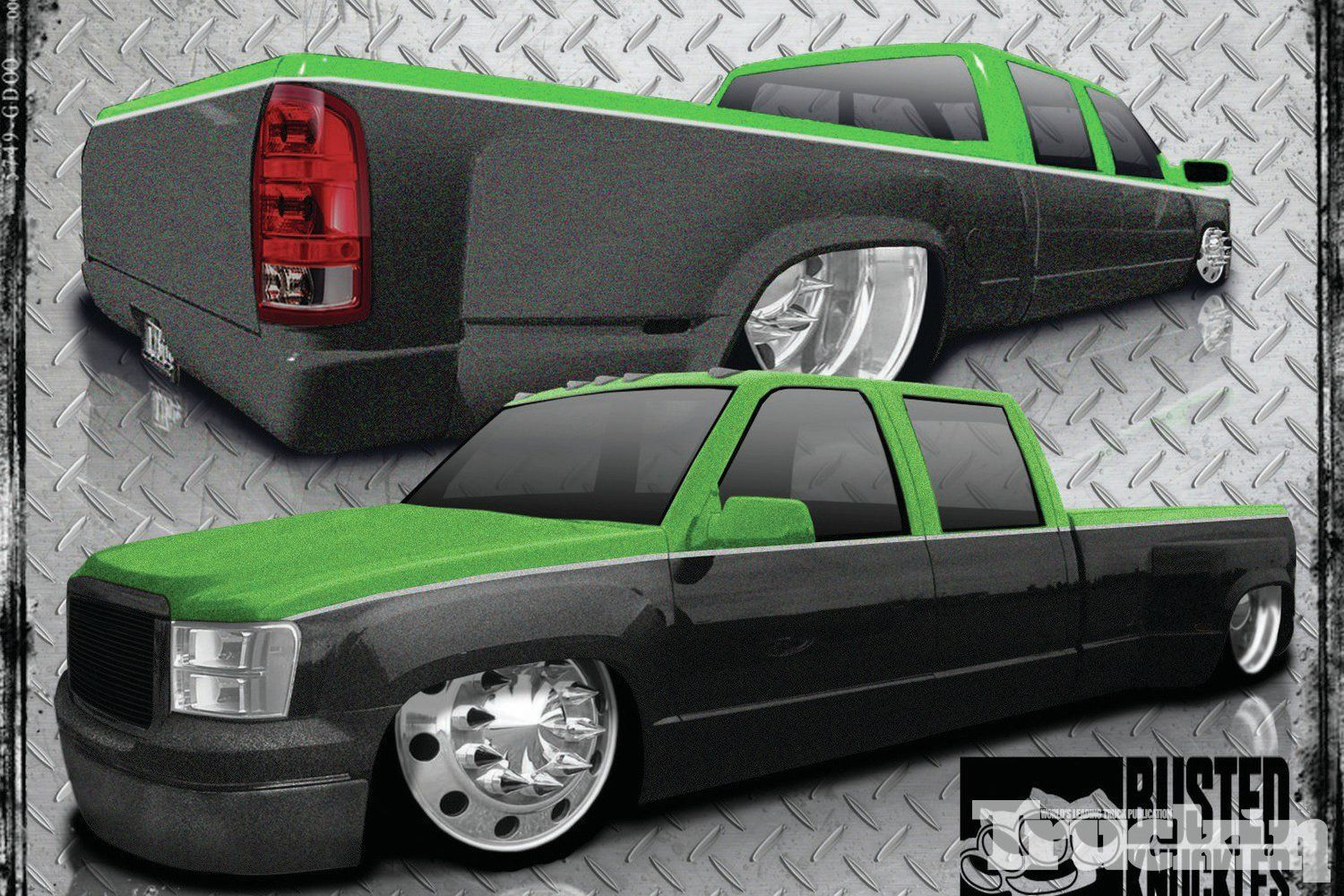 1403 1993 Two Tone Chevy Dualie Three Quarters Front View | TRUCKS ...