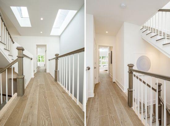Wide plank White Oak engineered Hardwood floor Home Pinterest