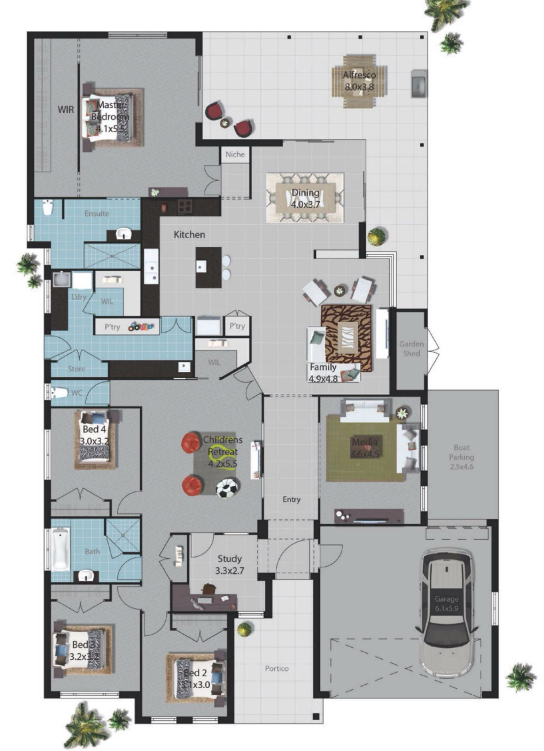 My dream home with a few small changes | Plány domov | Pinterest ...