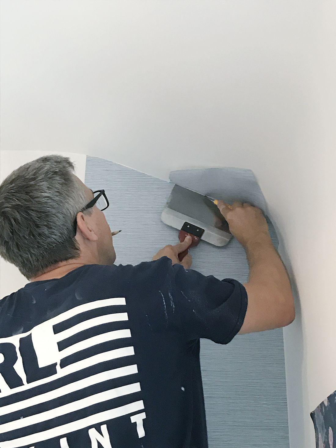 Rambling Renovators Paste The Wall Wallpaper Tips In 2021 Wall Wallpaper Wallpapering Tips Grasscloth Wallpaper