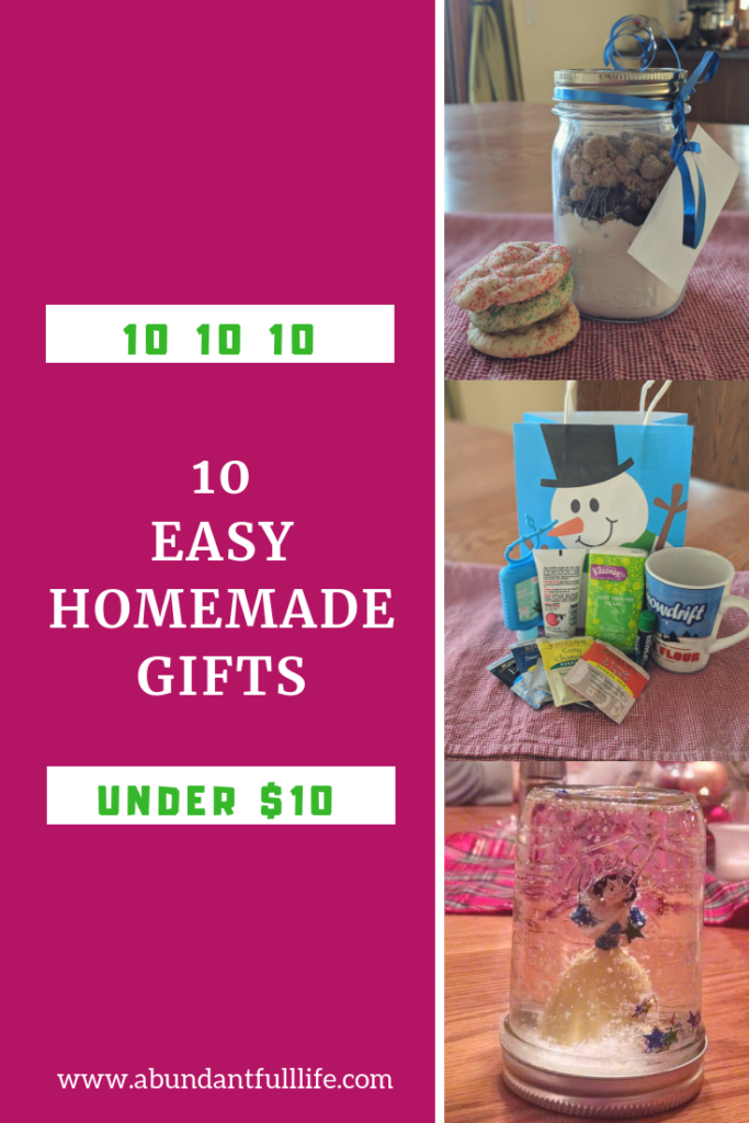 10 Easy Homemade Gifts Under 10 Easy homemade gifts