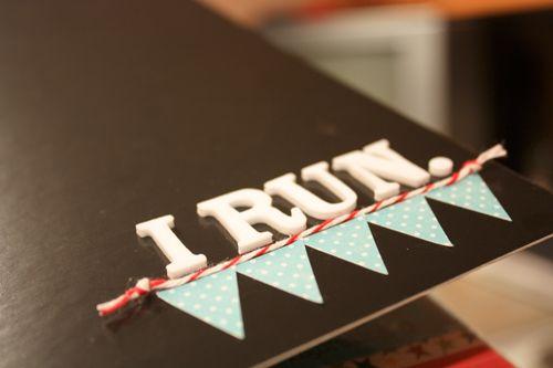 I Run, mini album created by @Abbie Miller