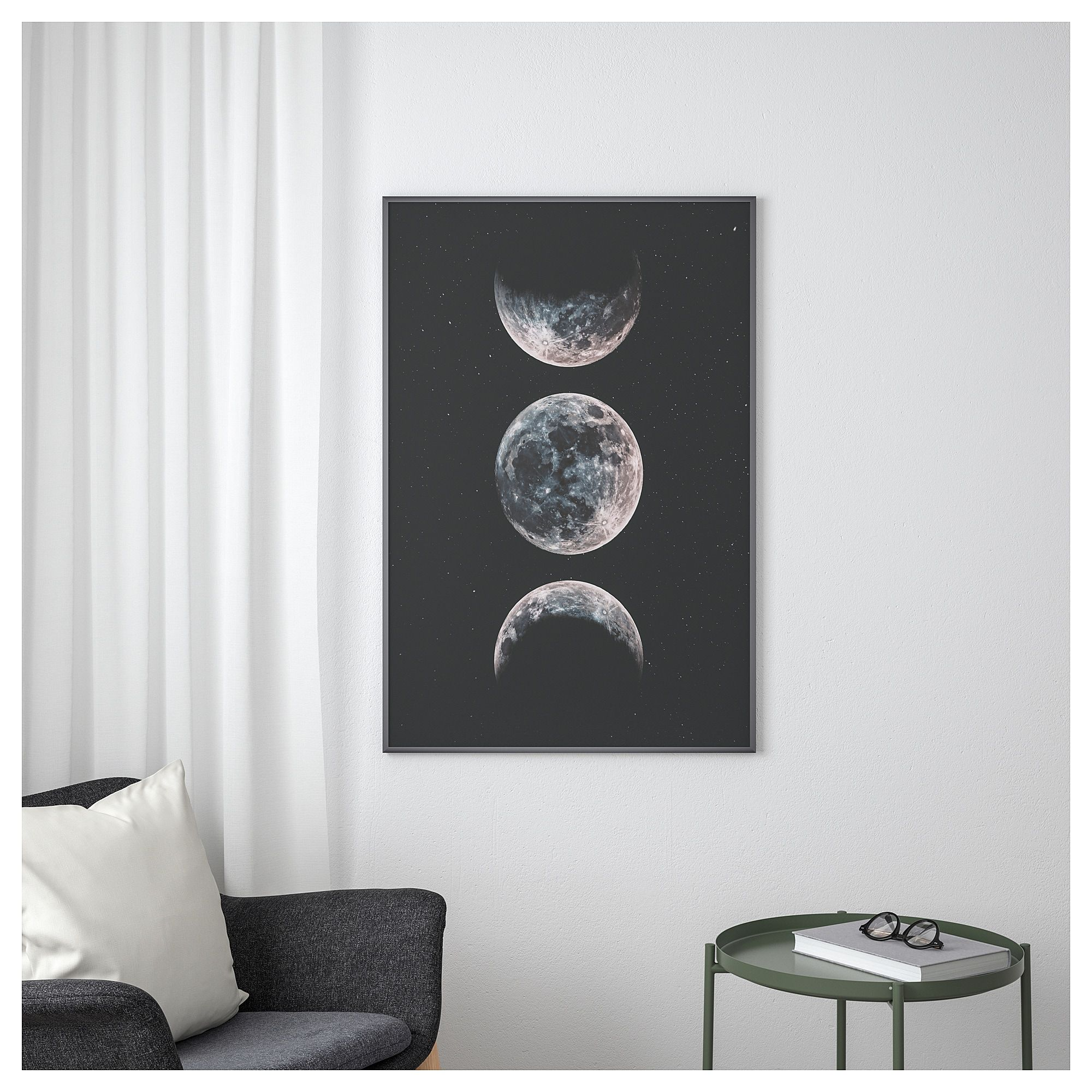 Ikea Poster Ikea Bild Poster Moon Products In 2019 Ikea Bedroom Posters