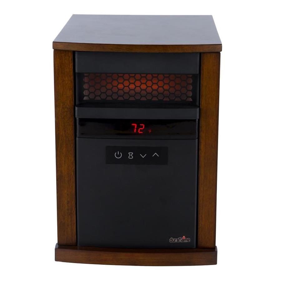 Duraflame 5200 Btu Infrared Quartz Cabinet Electric Space Heater