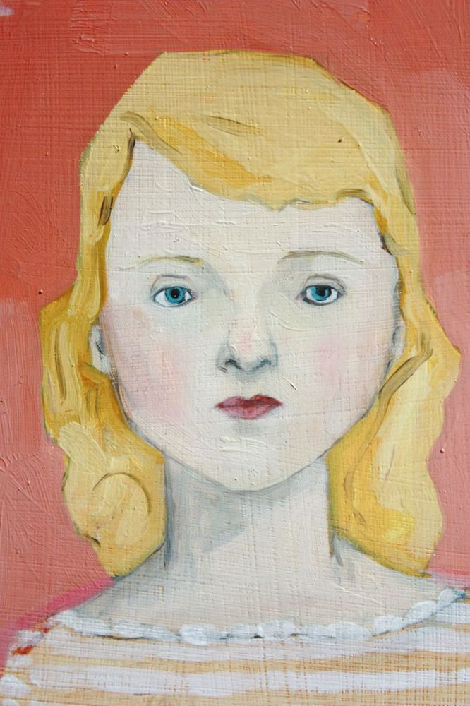 Amanda Blake paintings.