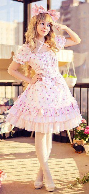 ♥ ロリータ, Sweet Lolita, Fairy Kei, Lolita, Loli, Gothic Lolita, Victorian, Rococo♥ | kawaii outfits/yukata,kimono | Pinterest