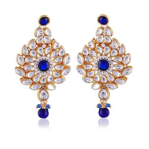 Chandelier Earring Costume Jewellery Online   Indian jewelry 2016 ...