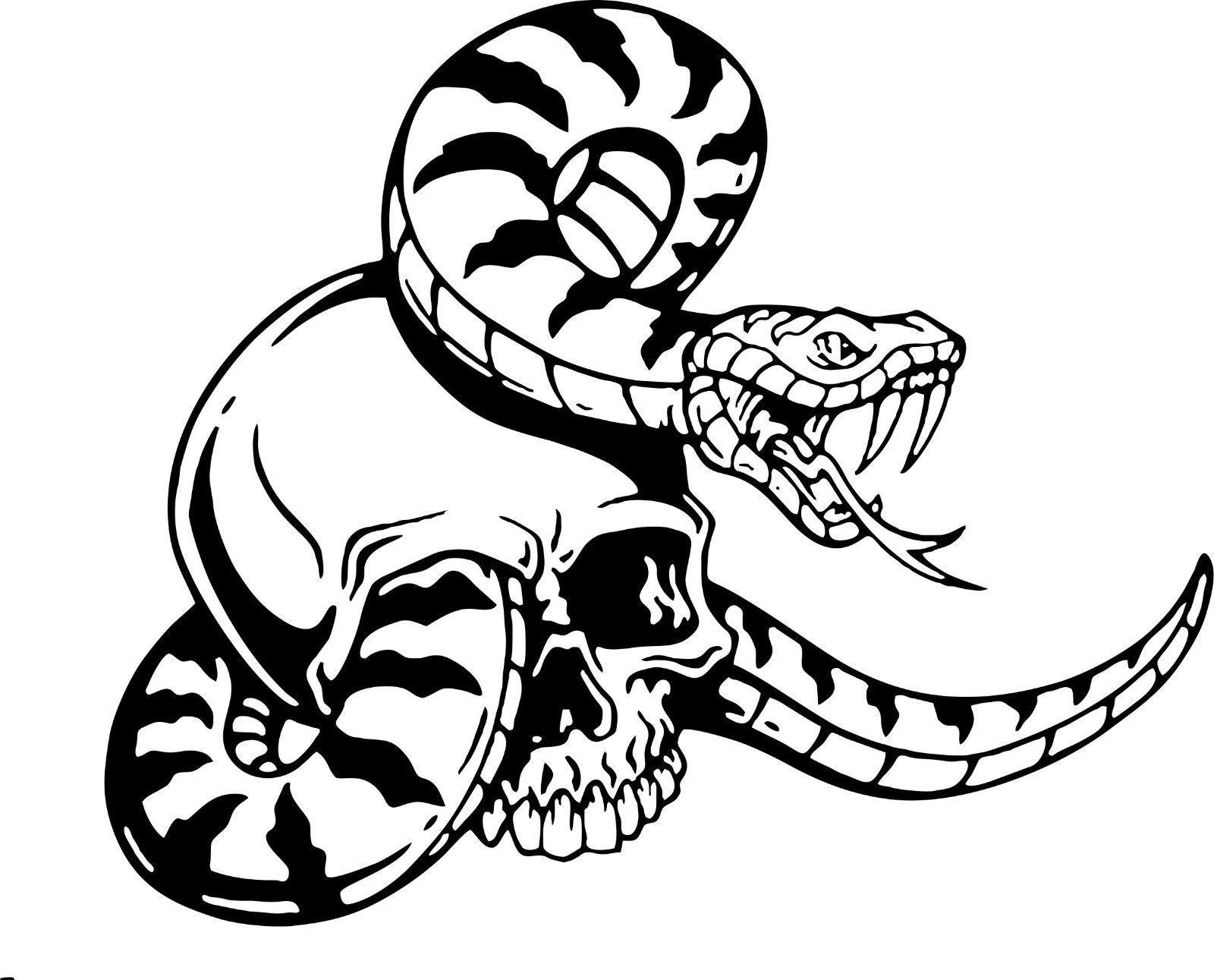 Snake Skull Serpent Car Truck Window Laptop Vinyl Decal Sticker Patriotic Wall Art Laptop Vinyl Decal True Red [ jpg ]