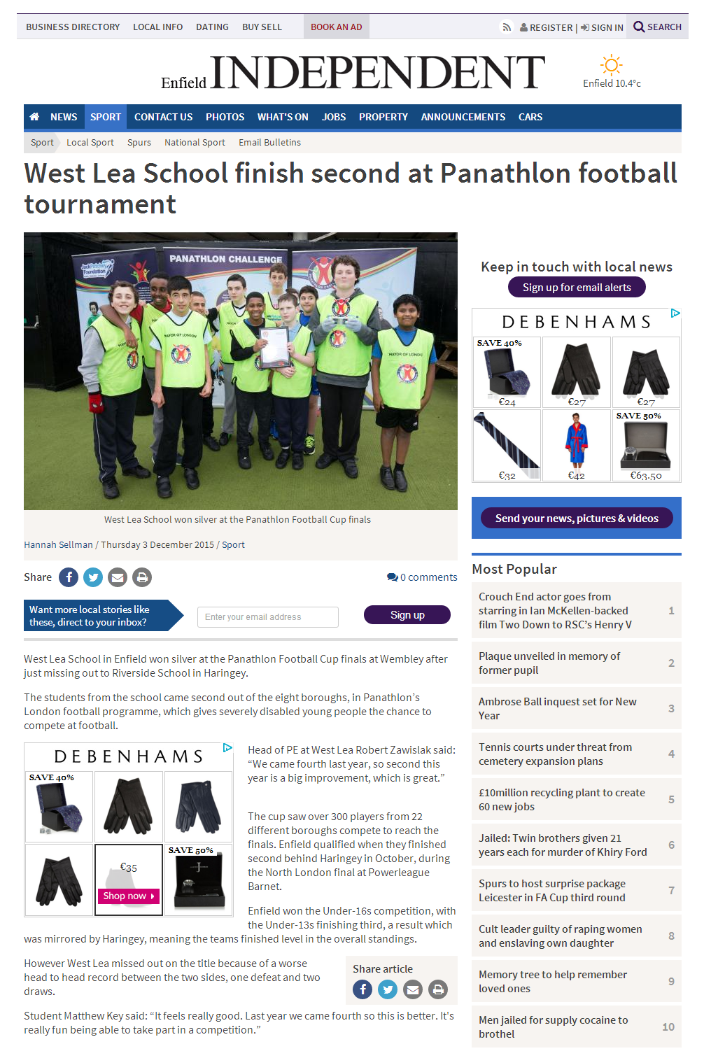 Enfield Independent - 3 December 2015