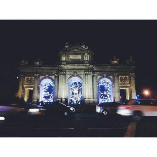 La Puerta de Alcalá #Madrid #EnMovimientoooo