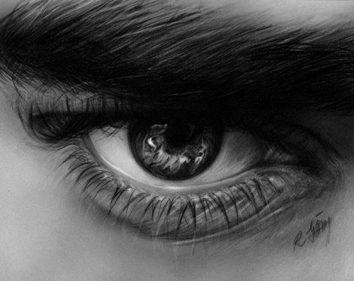 Eye Reflection Drawing | Stunning Pencil Drawings of Eyes - Eexploria