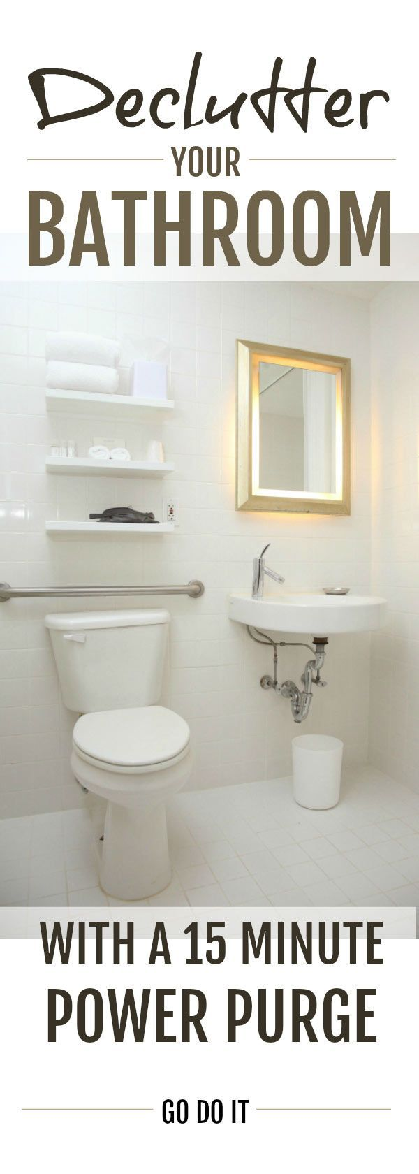 Declutter Your Bathroom These Simple Decluttering Tips Will Help You Declutter And Organize Your Bathroom