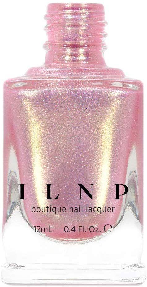 Amazon.com: ILNP Ja, bitte, zartrosa, holographisch schimmernder Nagellack: Gesundheit   – Hairstyle trending