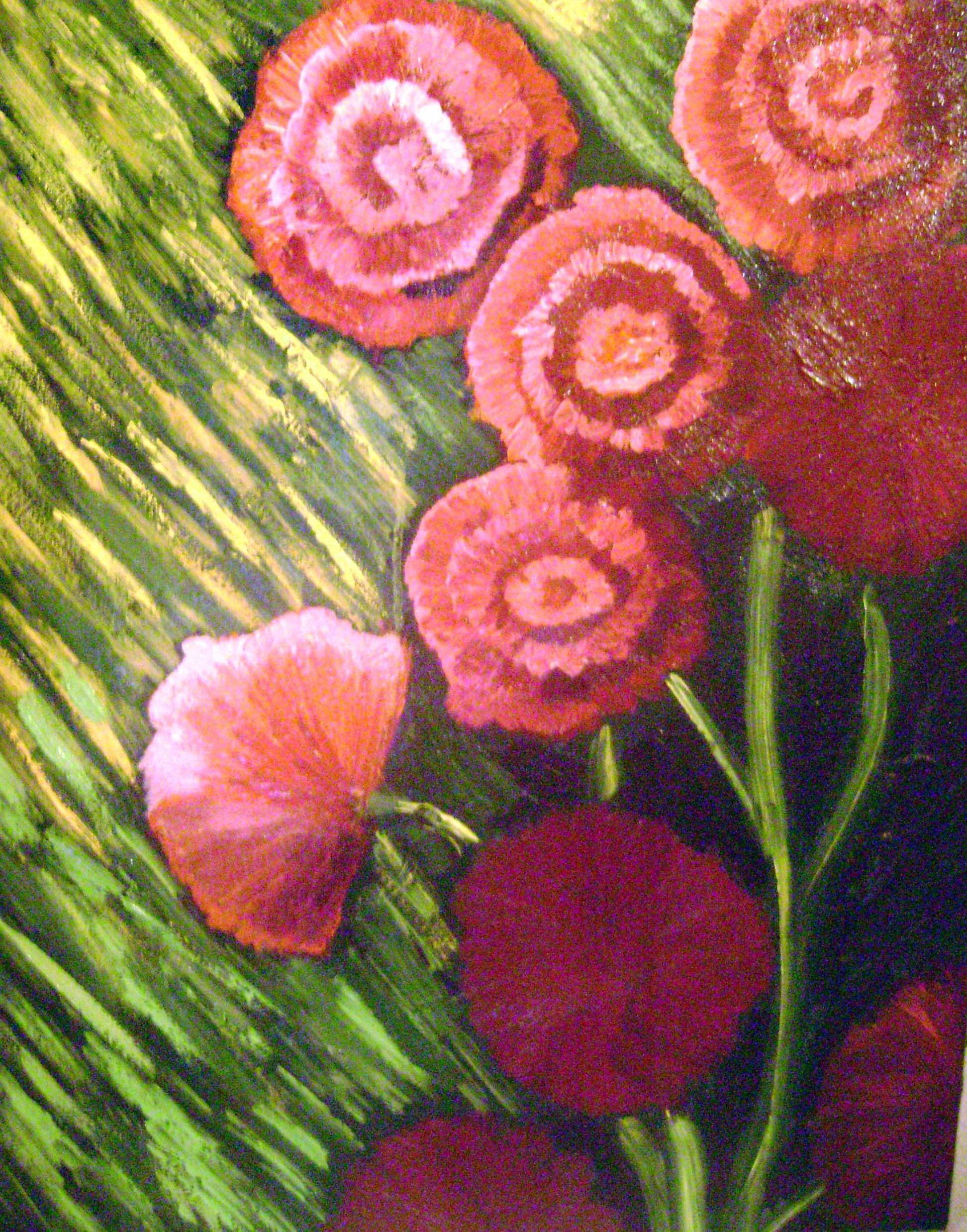 Claveles De Amor Juana Luna Impresionismo Arte Claveles