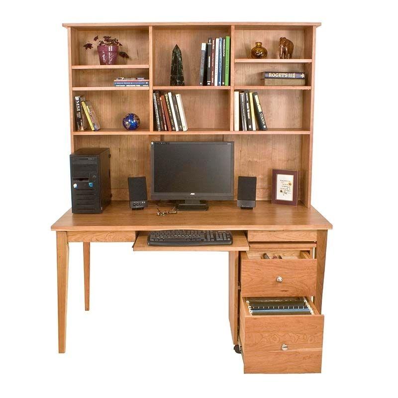 Wood Desk Hutch Solid Natural Wood Desks High Quality Office