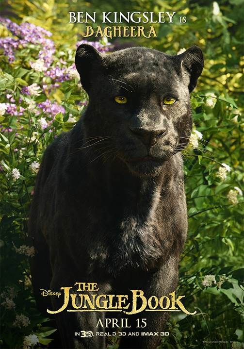 The Jungle Book 2016 Imax Preview Featurette And 14 Posters