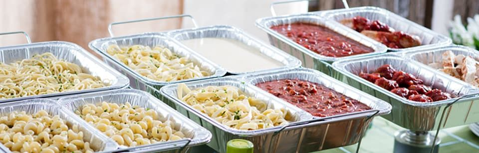A pasta bar seems like such a crowd pleaser and its so