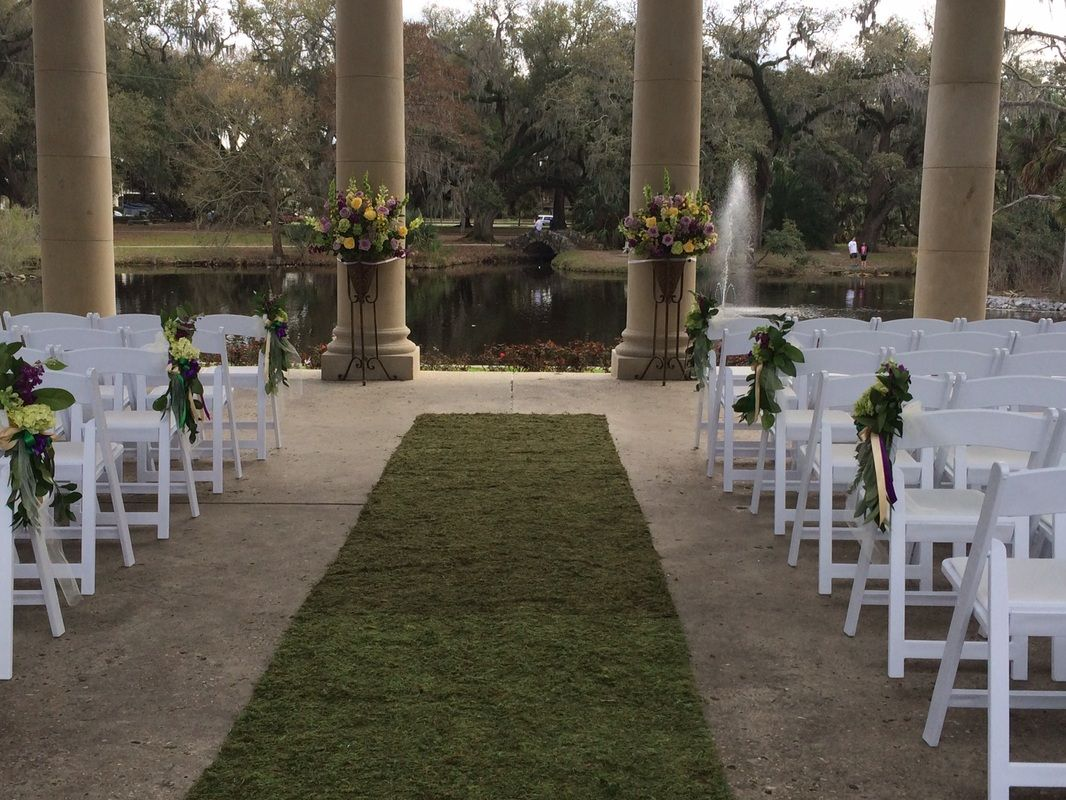 New Orleans Wedding City Park Peristyle