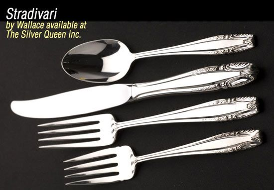 Wallace Stradivari sterling - Wallace sterling flatware patterns for sale, large selection