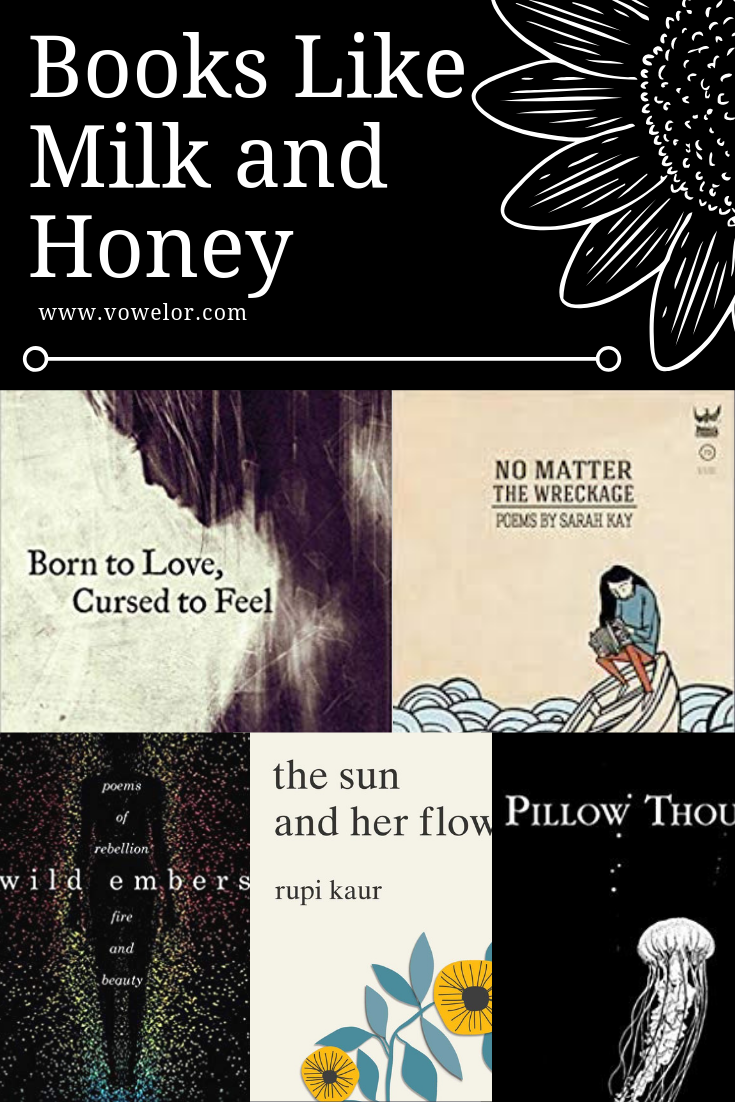 13 Poetry Books Like Milk And Honey is part of Best poetry books, Aesthetic poetry, Inspirational books, Book of poems, Poetry books, Literature books - If you have read the NY time bestselling poetry book, Milk and Honey and your poetic soul urges you to read more similar poems and prose, then your search for books like Milk and Honey ends