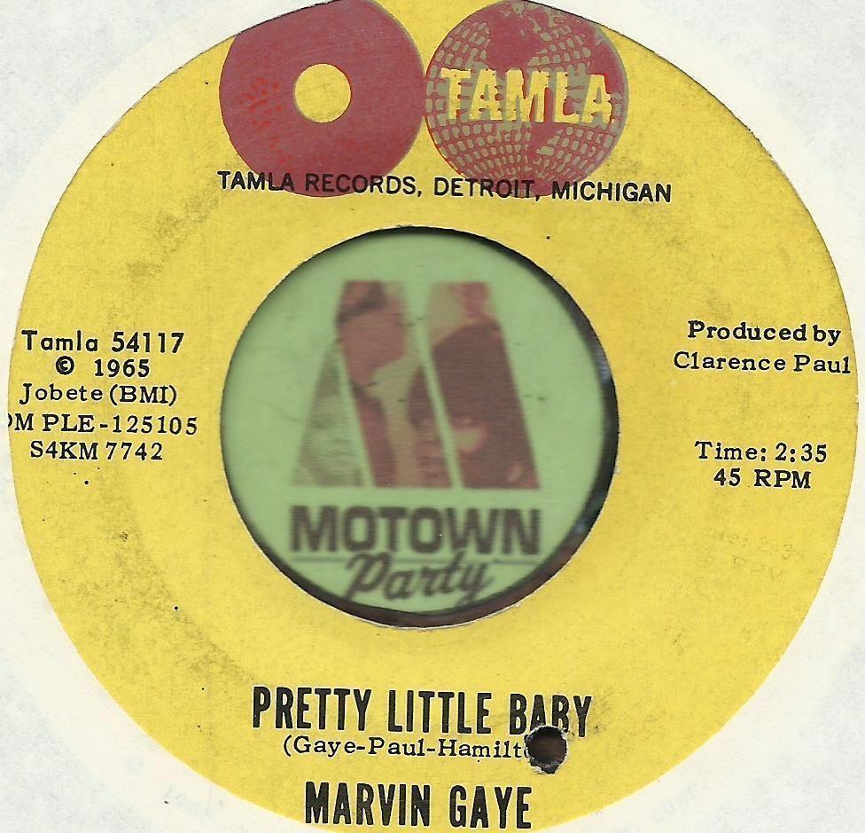 MARVIN GAYE Pretty Little Baby MOTOWN SOUL R&B 45 RPM ...