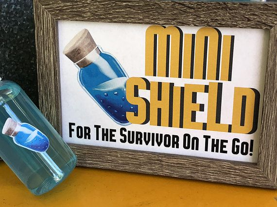 Fortnite Party Mini Shield Printable Fortnight Party