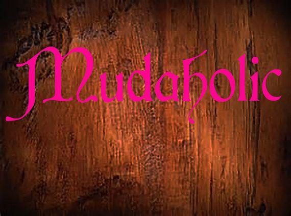 Mudaholic Vinyl Decal Cardinal Style Font Outdoor Custom Made - Custom made window decals