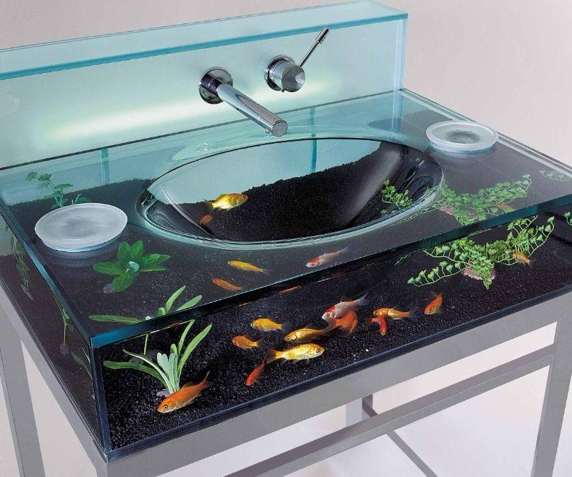 Fish Aquarium Sink Related Gifts