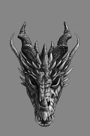 Front Dragon Head Drawing : front, dragon, drawing, Dragon, Heads, Front, Google, Search, Drawing,, Tattoo,, Artwork