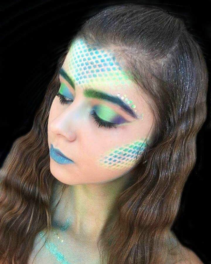 mermaid makeup ideas Google Search Mermaid makeup