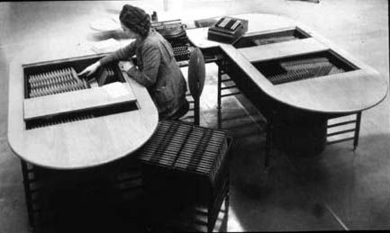 Tube Desk By Frank Lloyd Wright, Johnson Wax Building: Racine, Wisconsin  1936