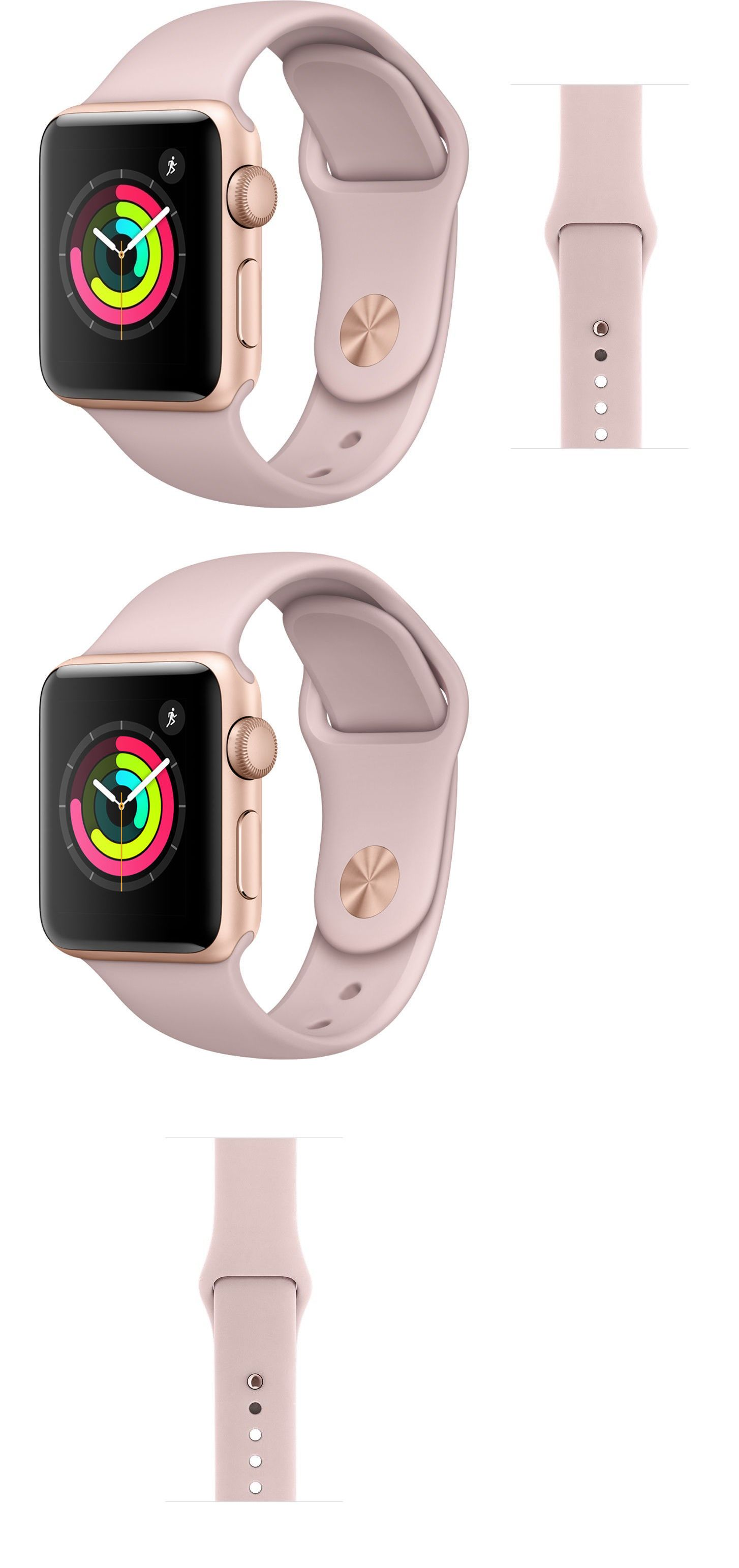 Smart Watches 178893 Apple Watch Series 3 38mm Gps Gold With Pink