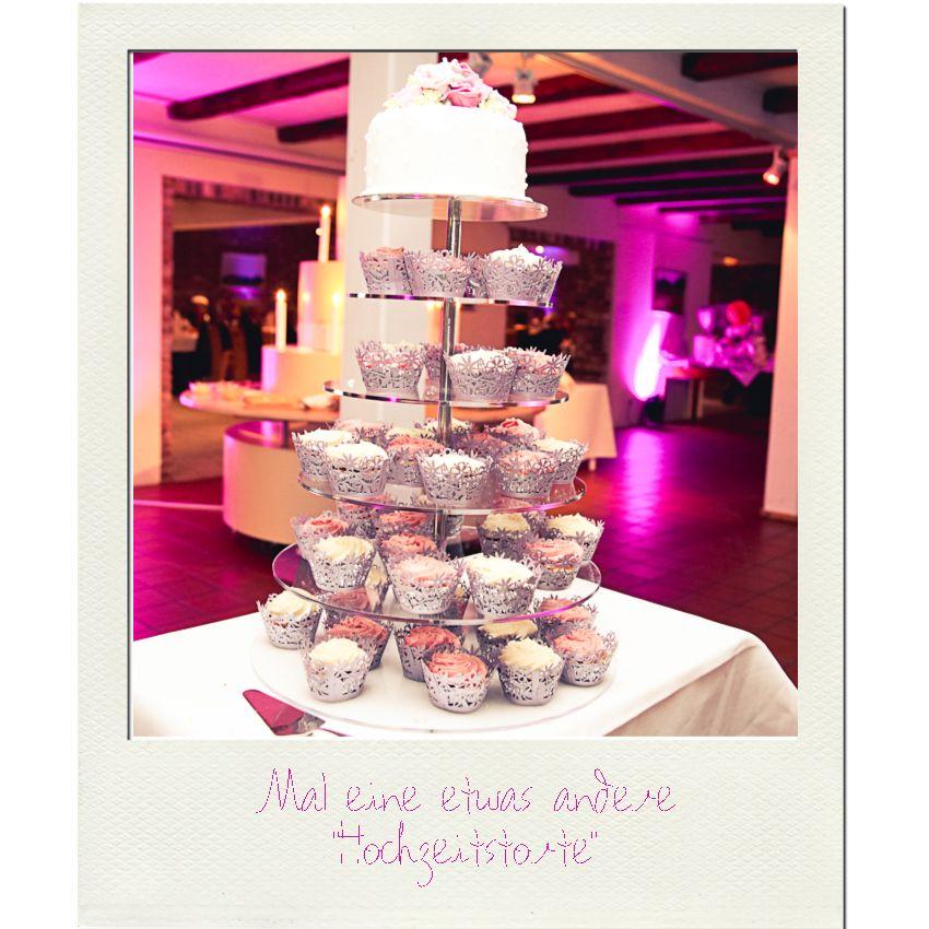 Hochzeitstorte mit cupcakes | weddingcake cupcakes | www