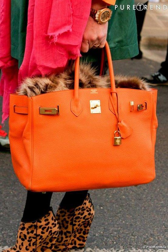 15c082b37b3d Orange Birkin Bag