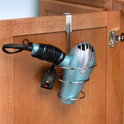Over The Cabinet Blow Dryer Holder Image Organizacion Pinterest