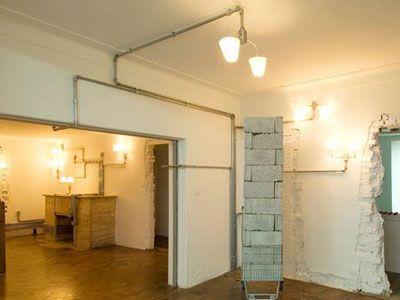 Instalaci n el ctrica con tuber as original propuesta - Instalacion electrica vista ...