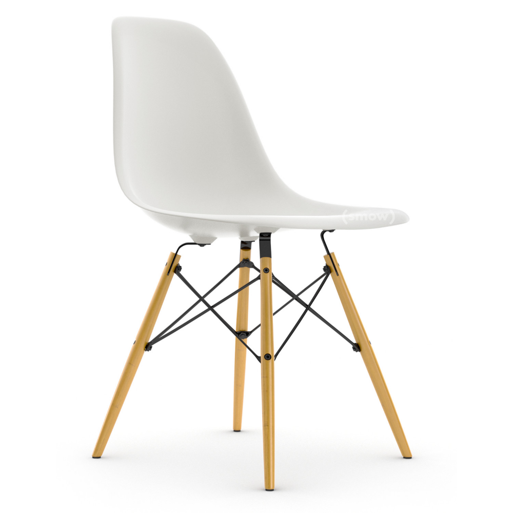 Vitra Eames Plastic Side Chair Dsw Vitra Eames Chairs Eames Eiffel Chair Eames Office Chair