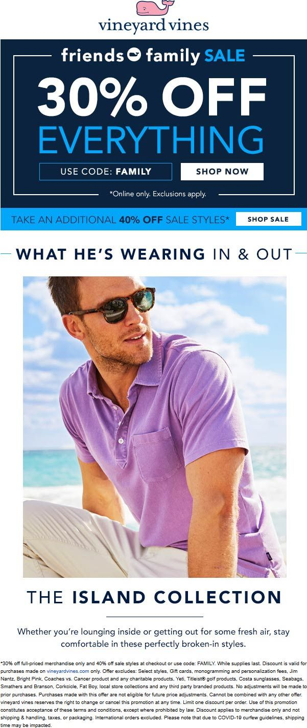 Vineyard Vines 🆓 Coupons & Shopping Deals! in 2020