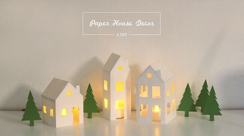 Paper House Diy  Noel    Air Dry Clay Card Stock And Clay