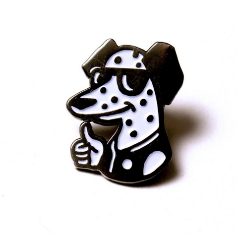 'All Dogs Go To Heaven' Pin