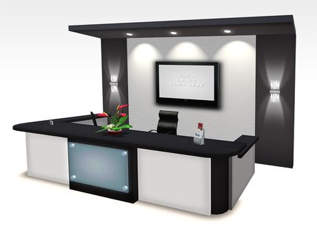 modern reception office - Google Search Office Pinterest Modern