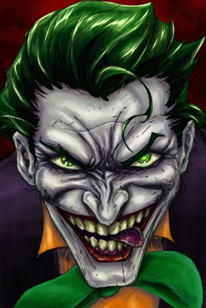 Joker By Danceswithwerewolves On Deviantart Joker And