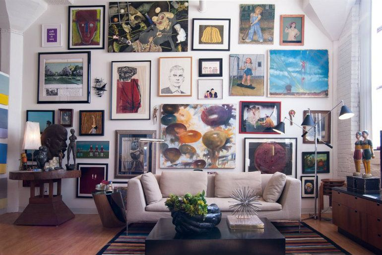 The Best Ways To Display Art In Your Living Room Decor